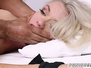 Oral, Sex, Big tits, Tits, Blonde, Bound, Maid