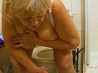 German, Grandmother, Masturbation, Fat, Toys, Amateurs, Old