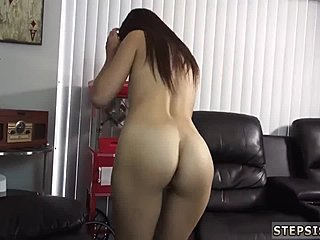 Ass, Dad and girl, Solo, Masturbation, Teen, Old and young, Oral