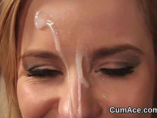 sperma face pics