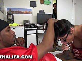Groß Schwarz Schwanz Mädchen Groß Titten